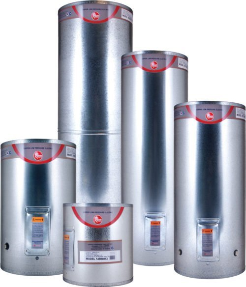 low pressure hot water cylinder nz